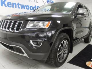 Used 2014 Jeep Grand Cherokee Limited- sunroof, leather power seat! CHOOSE YOUR TERRAIN! for sale in Edmonton, AB