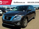 Used 2014 Nissan Pathfinder NAVIGATION, DVD, DUAL SUNROOF!! for sale in Edmonton, AB