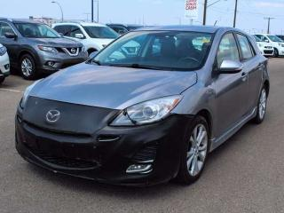Used 2010 Mazda MAZDA3 LEATHER, HEATED SEATS, SUNROOF for sale in Edmonton, AB