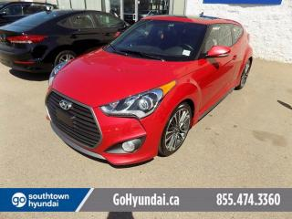 Used 2016 Hyundai Veloster Leather/Moonroof/Backup Camera for sale in Edmonton, AB