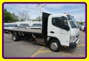 Used 2012 Mitsubishi Fuso FE 180 18 FT FLAT BED LOADED for sale in Woodbridge, ON