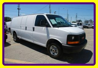 Used 2014 GMC Savana 3500 ext van 1 ton Loaded, Back windows only for sale in Woodbridge, ON