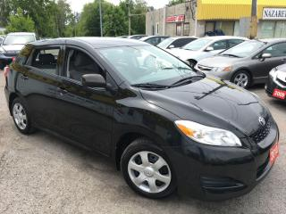 Used 2010 Toyota Matrix AUTO/ POWER GROUP/ LOW KMS/ VERY CLEAN for sale in Pickering, ON