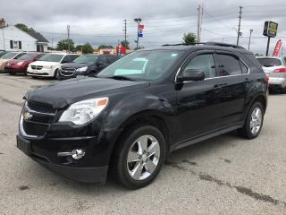 Used 2013 Chevrolet EQUINOX LT * LEATHER * NAV * REAR CAM * SUNROOF * BLUETOOTH for sale in London, ON