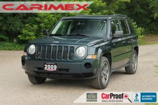 Used 2008 Jeep Patriot Sport/North Accident-FREE | CERTIFIED for sale in Waterloo, ON