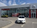 Used 2014 Nissan Sentra SL AUTO  WITH LEATHER, NAVIGATION for sale in Belleville, ON