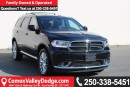 Used 2016 Dodge Durango Limited KEYLESS ENTRY, BACK UP CAMERA, BLUETOOTH, DVD, PARK ASSIST, REMOTE START for sale in Courtenay, BC