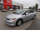 Used 2012 Honda Civic LX... 5 SPEED... KEYLESS ENTRY for sale in Milton, ON