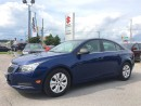 Used 2012 Chevrolet Cruze LS ~Top Safety Scores  ~Fuel Economy for sale in Barrie, ON