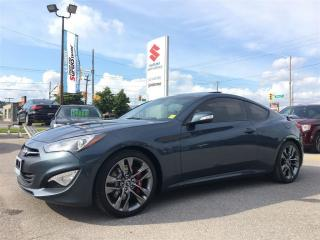 Used 2013 Hyundai Genesis Coupe GT ~Nav ~Power Heated Leather ~Power Sunroof for sale in Barrie, ON