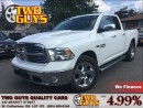 Used 2013 Dodge Ram 1500 SLT LOW LOW KMS!!! for sale in St Catharines, ON