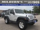 Used 2009 Jeep Wrangler X 4X4 for sale in Guelph, ON