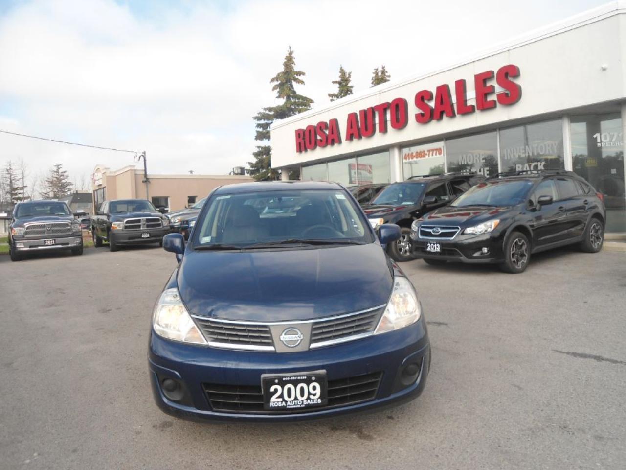 Photo of Blue 2009 Nissan Versa