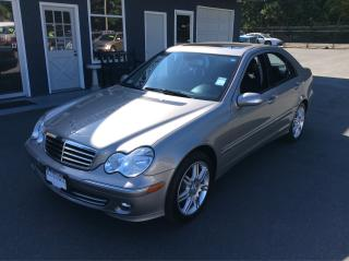 Used 2007 Mercedes-Benz C280 3.0L AVANTGARDE for sale in Parksville, BC