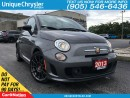 Used 2013 Fiat 500 C Abarth | LEATHER BUCKET SEATS | BEATS AUDIO | for sale in Burlington, ON