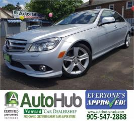 Used 2009 Mercedes-Benz C 300 4MATIC-LEATHER-SUNROOF for sale in Hamilton, ON