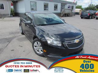 Used 2014 Chevrolet Cruze 1LT | TURBO | CLEAN | MUST SEE for sale in London, ON