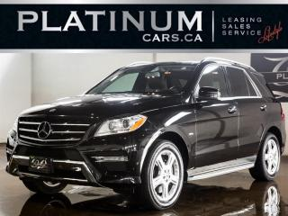 Used 2012 Mercedes-Benz ML-Class ML350, NAVI, CAM, SU for sale in North York, ON