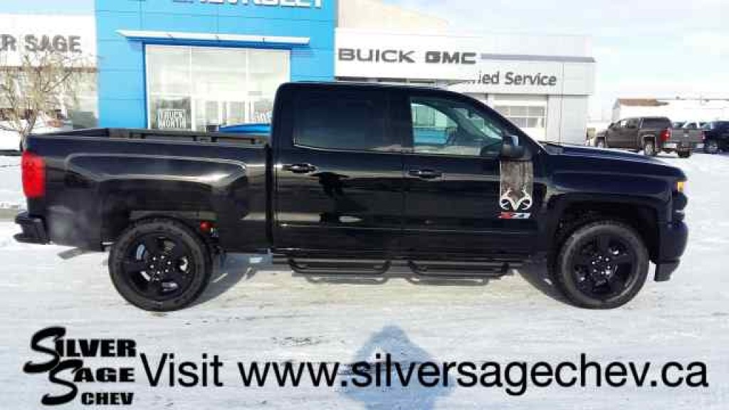 new 2017 chevrolet silverado 1500 crew cab 4wd ltz2 realtree edition for sale in shaunavon. Black Bedroom Furniture Sets. Home Design Ideas