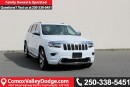 Used 2014 Jeep Grand Cherokee Overland KEYLESS ENTRY, REMOTE START, NAV, BACK UP CAMERA, PARK ASSIST, LEATHER HEATED SEATS for sale in Courtenay, BC