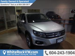 New 2017 Volkswagen Tiguan Comfortline PANORAMIC SUNROOF, APP-CONNECT, 6.33