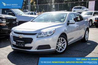 Used 2015 Chevrolet Malibu 1LT Backup Camera and Sunroof for sale in Port Coquitlam, BC