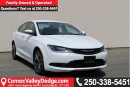 Used 2015 Chrysler 200 ONE OWNER, LOW KILOMETER, KEYLESS ENTRY, BLUETOOTH, BACK UP CAMERA, REMOTE START, LEATHER HEATED SEA for sale in Courtenay, BC