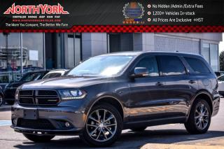 Used 2017 Dodge Durango GT AWD|6-Seater|Leather|Sunroof|Nav|Backup Cam|20