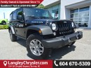 Used 2016 Jeep Wrangler Unlimited Rubicon w/NAVIGATION & BLUETOOTH for sale in Surrey, BC