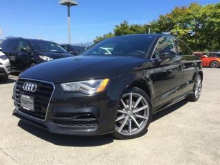 Used 2015 Audi A3 2.0T Technik for sale in Vancouver, BC