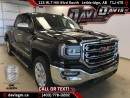New 2017 GMC Sierra 1500 SLT-6.2L V8, Heated/Cooled Leather, Navigation, Sunroof, Remote Start for sale in Lethbridge, AB