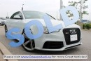 Used 2013 Audi RS5 *SOLD* quattro Coupé w/ HDD Navigation for sale in Whitby, ON