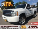 Used 2013 Chevrolet Silverado 1500 LT REG CAB| FULL BOX| 4.8L RWD for sale in St Catharines, ON
