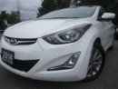 Used 2014 Hyundai Elantra GLS-Sunroof-Alloys-Rear Camera for sale in Mississauga, ON
