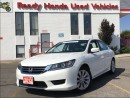 Used 2013 Honda Accord Sedan LX - Rear Camera - Heated Seats for sale in Mississauga, ON