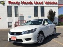 Used 2013 Honda Accord Sedan LX - Rear Camera - Heated Seats for sale in Mississauga, ON