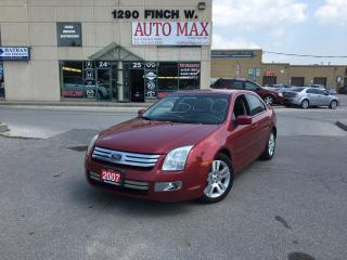 Used 2007 Ford Fusion SEL, Sunroof, Alloy Rims, Low KM for sale in North York, ON