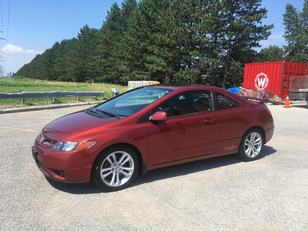 used 2006 honda civic si for sale in scarborough ontario. Black Bedroom Furniture Sets. Home Design Ideas