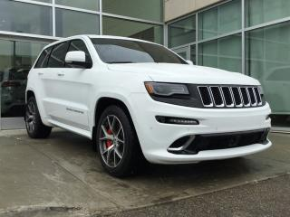 Used 2016 Jeep Grand Cherokee SRT/NAV/LAUNCH CONTROL/HEATED AND COOLED SEATS/HEATED SECOND ROW for sale in Edmonton, AB