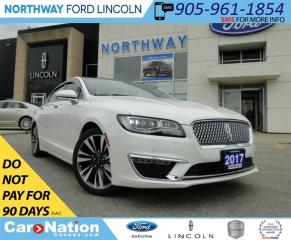 Used 2017 Lincoln MKZ Reserve | HYBRID | LEATHER | REAR CAM | for sale in Brantford, ON