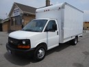 Used 2011 Chevrolet Express 3500 Cube Van 14Ft Box Loaded Ramp ONLY 77,000KMs for sale in Etobicoke, ON