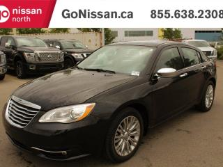 Used 2012 Chrysler 200 HEATED SEATS, LEATHER, SUNROOF for sale in Edmonton, AB