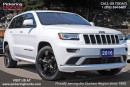 Used 2016 Jeep Grand Cherokee Overland LEATHER SUNROOF REMOTE STARTER for sale in Pickering, ON