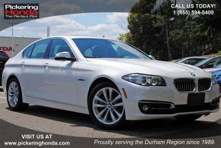 Used 2016 BMW 528 i xDrive LEATHER SUNROOF BLUETOOTH for sale in Pickering, ON