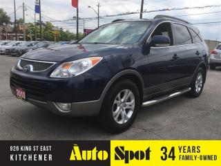 Used 2010 Hyundai Veracruz GL/7 PASSENGER/PRICED FOR A QUICK SALE! for sale in Kitchener, ON