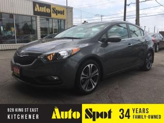 Used 2014 Kia Forte EX/MOONROOF/PRICED FOR A QUICK SALE ! for sale in Kitchener, ON