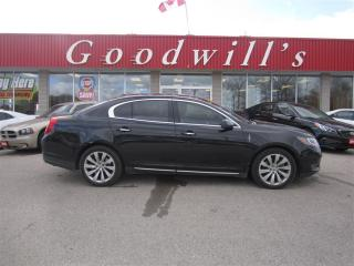 Used 2013 Lincoln MKS NAVIGATION! LEATHER! LOADED! for sale in Aylmer, ON