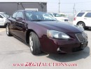 Used 2005 Pontiac GRAND PRIX GXP 4D SEDAN for sale in Calgary, AB