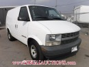 Used 2001 Chevrolet ASTRO VANS  EXT CARGO VAN AWD for sale in Calgary, AB