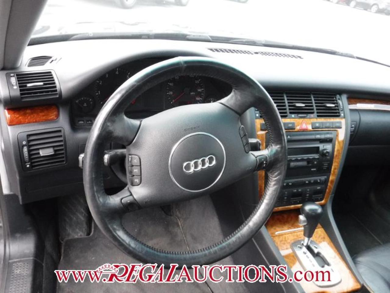 2002 Audi A8  4D SEDAN QTRO AWD